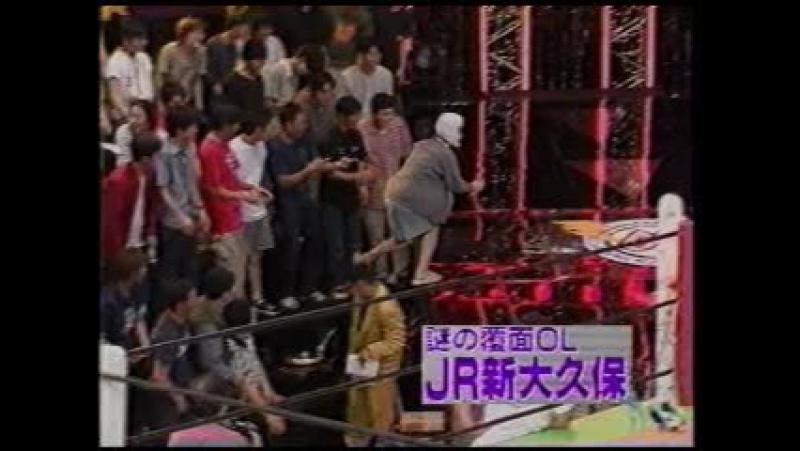 Mecha-Mecha Iketeru! 145 (2000.06.03) - Japan Women's Pro Wrestling 3: Kawamura Horikoshi Nori VS Yazawa heart Hikariura VS