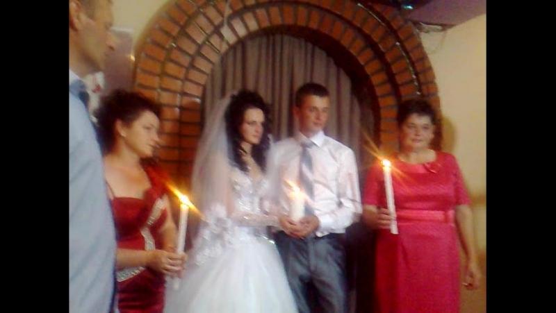 Поздравление родителей на свадьбе Павлика Шабельного у Пищаному.