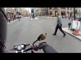 ЗВУК МОТО Пугает пешеходов =)))))))))))))))))