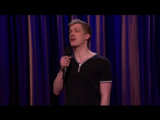 Дэниэл Слосс о наркотиках и геях [05.02.14 Conan on TBS]