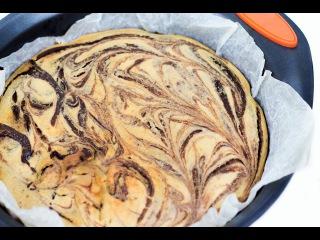 ШОКОЛАДНО-БАНАНОВЫЙ БРАУНИ \ Рецепт брауни с бананом \ Как сделать брауни с творогом