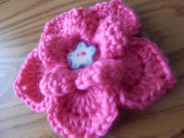 Flor 5 para la Banda de 2 agujas