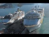Самые большие корабли в мире. Мегакорабли. Суперсооружения