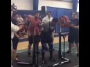 "I Love Powerlifting on Instagram: ""17-летний Charles Ruffin приседает в наколенниках 282,5 кг в весовой категории до 105 кг. В ж"