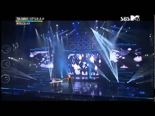 B.A.P Bang YongGuk ft. Daehyun - I Remember at B.A.P showcase