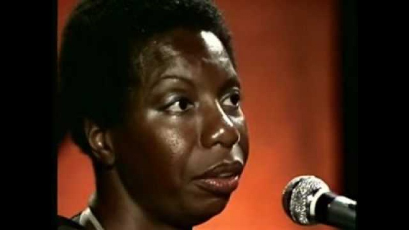 NINA SIMONE on DAVID BOWIE, JANIS JOPLIN and singing STARS( Live at Montreux, 1976)