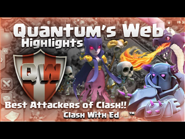 Clash of Clans | Quantum's Web Highlights - Th11 Attacks - LavaLoon, Dragon, GoWiWi and GoWiPe