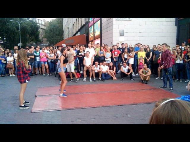 Танцевальные батлы Крещатика Вечерний Киев часть 6 Dance Battles Khreshchatyk Kiev Evening part6