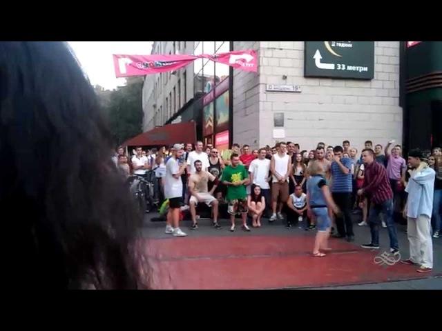 Танцевальные батлы Крещатика Вечерний Киев часть 3 Dance Battles Khreshchatyk Kiev Evening part3