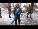 Захарченко предложил Порошенко забрать оставленный ВСУ в аэропорту флаг Украины