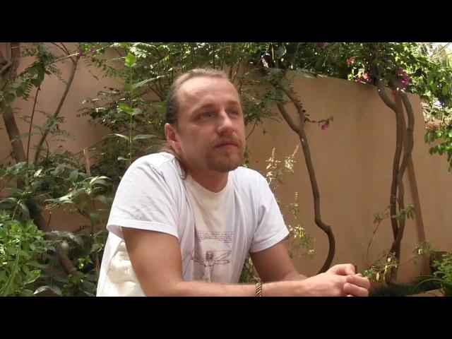 Призёр Битвы экстрасенсов Дмитрий Троцкий интервью в г Путтапарти 2012