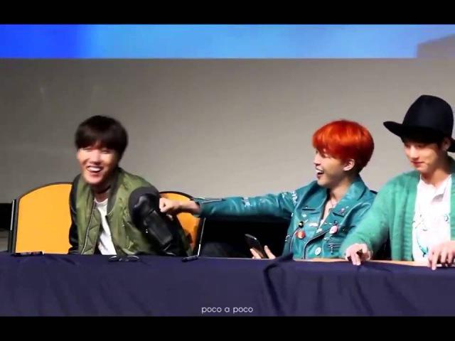 [151211] BTS - Jimin J-Hope at Aladin Gangnam Fansign