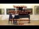 Йозеф Гайдн Соната №33 до минор Op 41 No 2 08 01 2016 Петр Шпак фортепиано