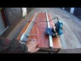 31.Как ровно фрезеровать ручным фрезером длинные пазы по направляющей шине