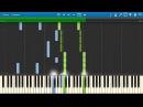 Alekseev - Пьяное солнце (урок на фортепиано)