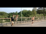 Безбашенные прыжки с моста(+сальто)