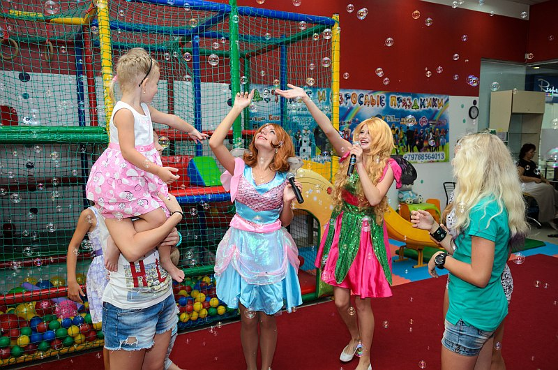 Феи Винкс на детский праздник