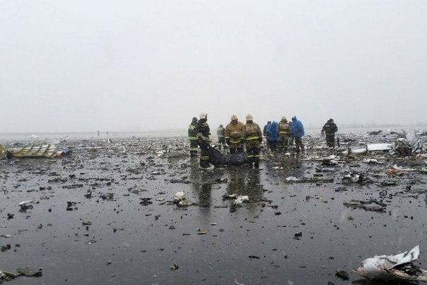 В Ростове-на-Дону при заходе на посадку разбился пассажирский «боинг»