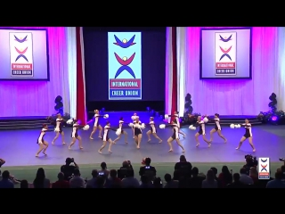 USA 2015 Cheer Freestyle Pom