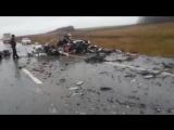 РЕДКОЕ ВИДЕО! Ужасные кадры с места аварии
