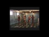 Съёмки клипа Dirrty на русском (