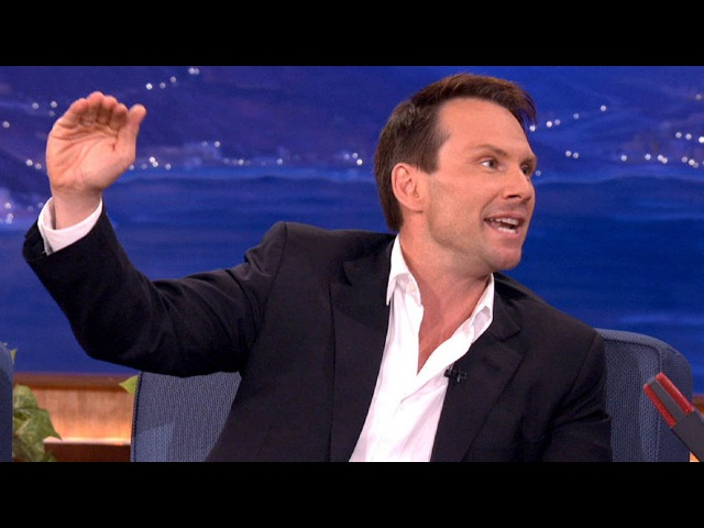 Christian Slater's 1000% True Skydiving Story - CONAN on TBS