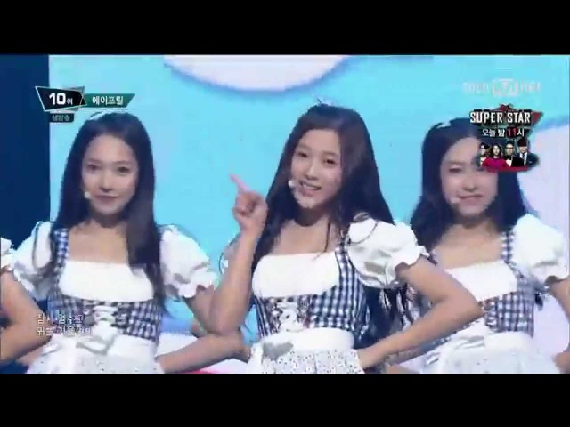 150903 APRIL (에이프릴) - Dream Candy (꿈사탕) @ 엠카운트다운 M! Countdown