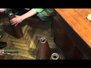 Новости от Ватника: агитационные снаряды для Украинских вояков