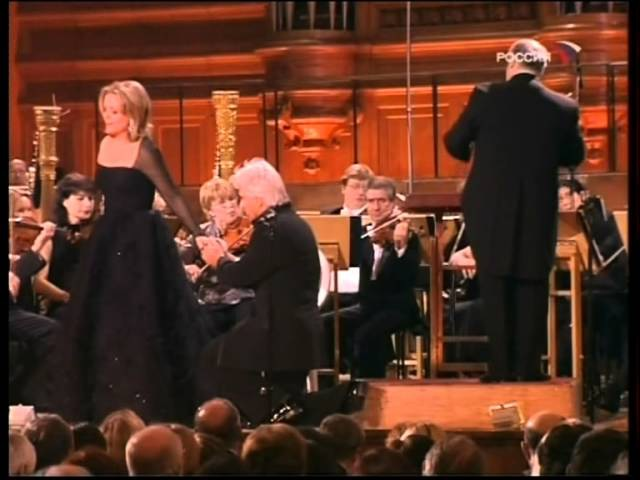 Dmitri Hvorostovsky and Renée Fleming, Moscow, 06.02.2006 (part 3)
