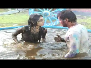 Abhi And Pragya Get Wet While Playing Holi | Kum Kum Bhagya