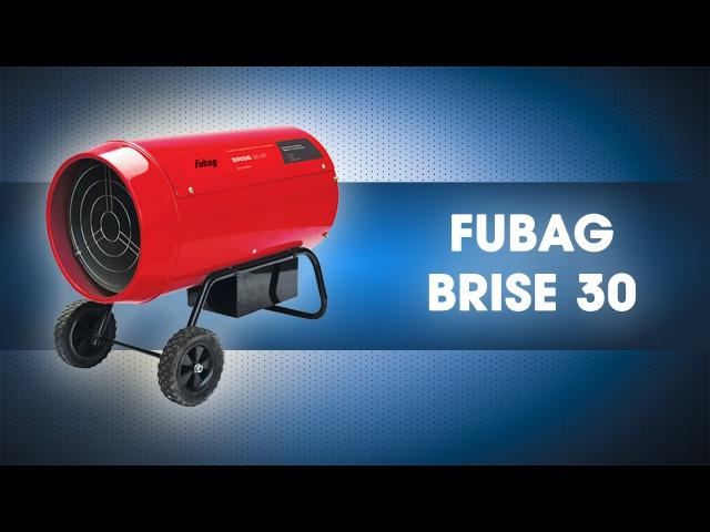 Газовая тепловая пушка 30 кВт FUBAG BRISE 30 ликвидатор32.рф