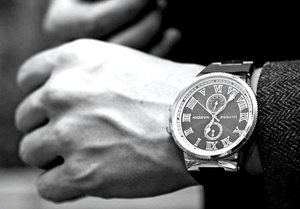 Одни из лучших мужских часов - Ulysse Nardin!