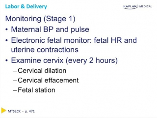 Ob Gyn - Chapter 11 Labor and Delivery