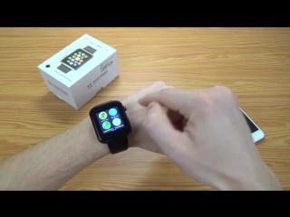 Обзор умных смарт часов копия Apple Watch