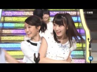 [Perf] AKB48 - Kimi wa Melody @ Music Station (11 Maret 2016)