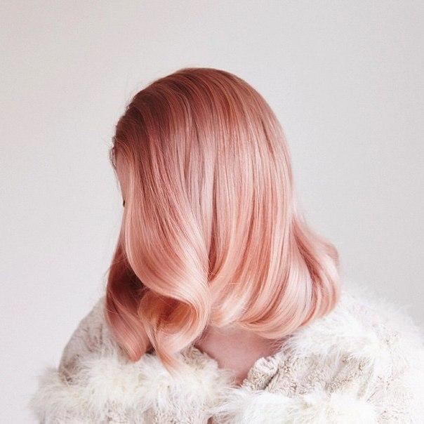 Золотисто розовый цвет