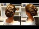 Свадебная прическа,вечерняя прическа,прическа на выпускной. Wedding, evening, prom hairstyle