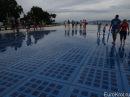 Морской орган в Хорватии В Хорватии построили 80-метровый орган, на котором играют море и ветер. Только послушайте!