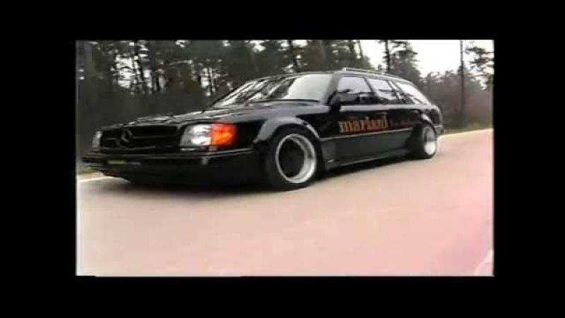 Mariani Car Styling *Tuning* Werbefilm 1992 Mercedes W124 BMW 5er etc