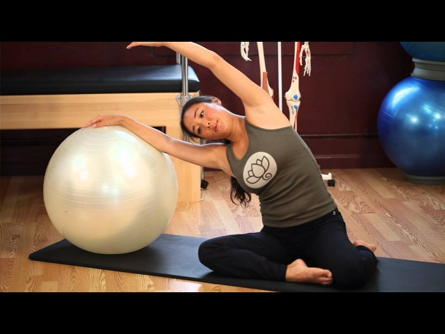 Upside-Down Pilates - Exercise Ball - Lesson 52 - Full 30 Minute Pilates Workout - HD
