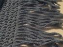 Вязание крючком бахрома