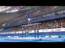 Олег Верняев - чемпион мира по спортивной гимнастике 2014 выстепление