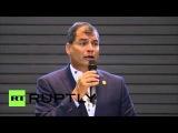 Эквадор: Президент Колумбии приветствует мирный процесс ФАРК на саммите КЕЛАК.