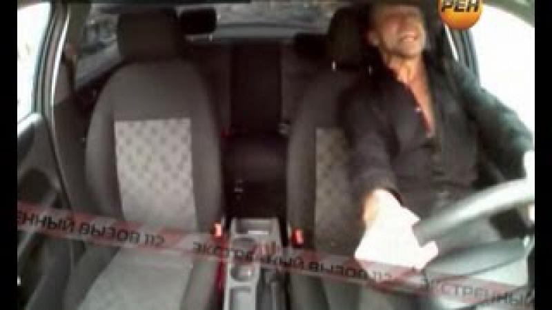 Наркоман угнал полицейскую машину Экстренный вызов