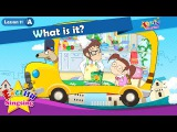 Lesson 11_(A)What is it - Cartoon Story - English Education - Easy conversation for kids