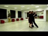 Танго Профи: уроки танго от Алексея Барболина. Тема: танго-салон.