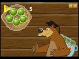 Маша и Медведь игра для детей. Учимся считать. Masha and the Bear game for kids