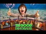 Открываем коллекцию динозавриков из мультфильма Диснея