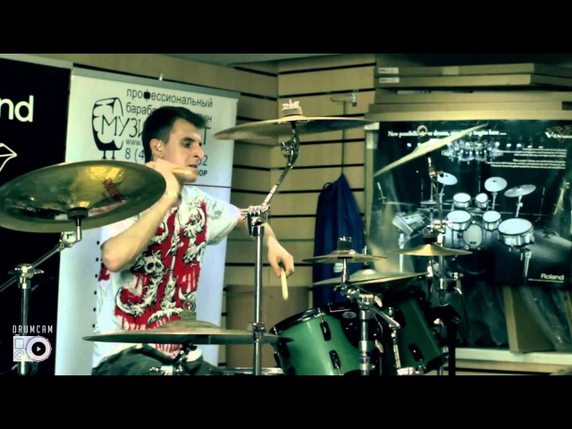 LIVE DRUMCAM: Мастер-класс Евгения Новикова - KATALEPSY: Knifed Humility, 31.05.15