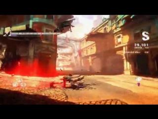 DmC 5 all Dante combo attack